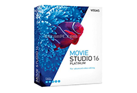视频编辑软件 MAGIX VEGAS Movie Studio Platinum v16.0.0.167 中文破解版